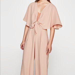 Blush pink Zara jumpsuit!!